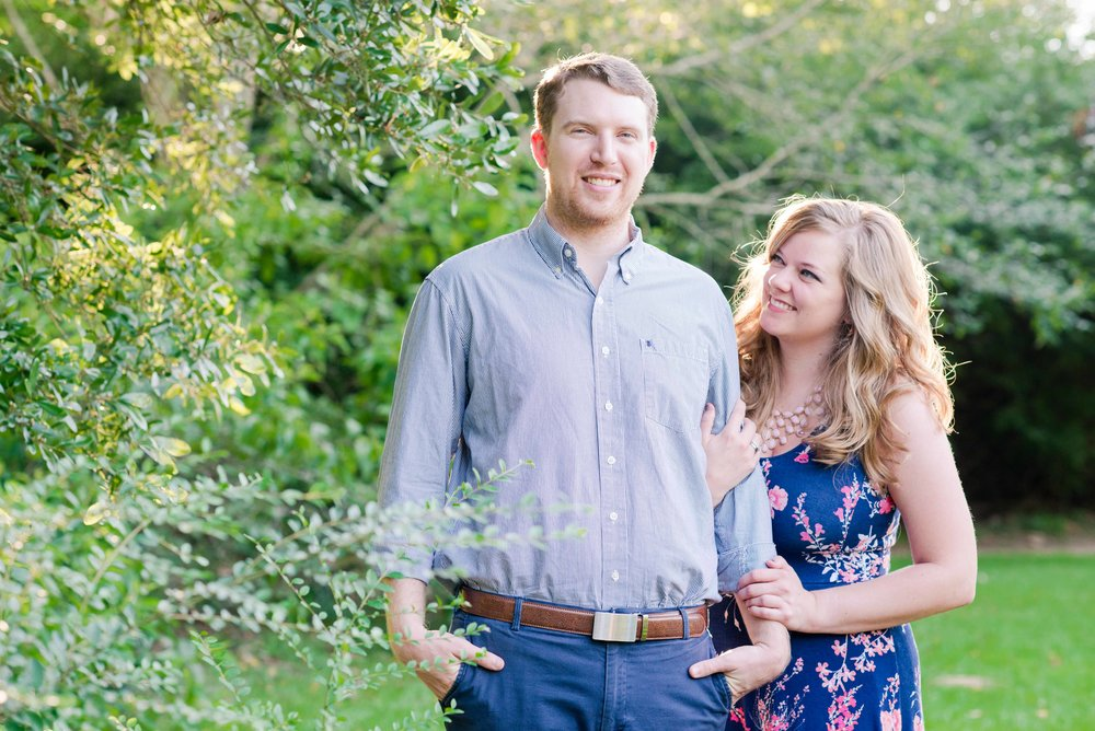 Ashley and Weston Anniversary Portrait Session Auburn Alabama