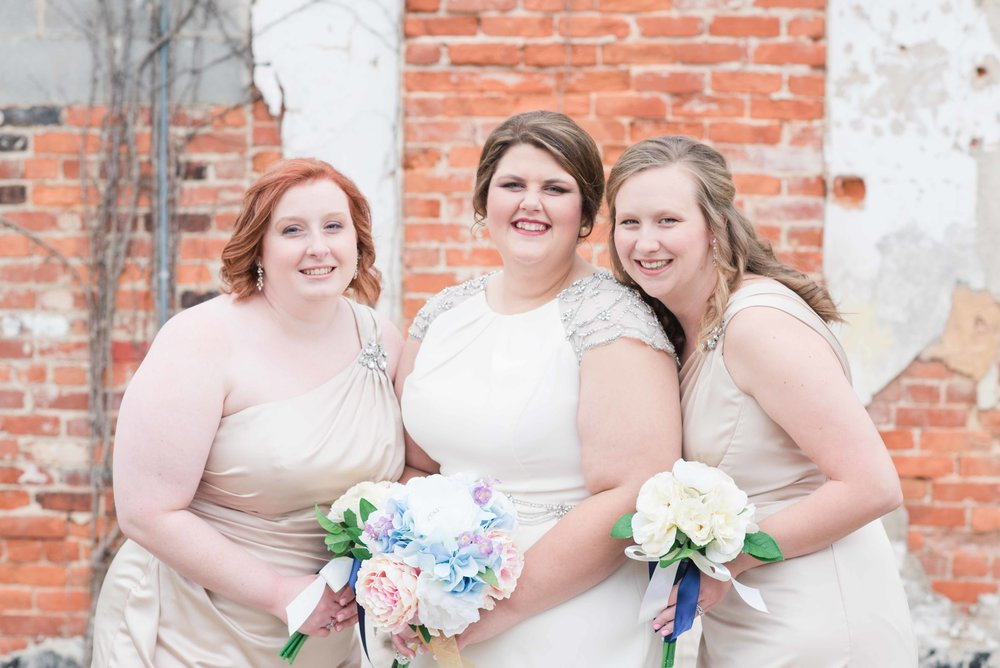 Bridesmaids Greensboro Alabama Wedding Deborah Michelle Photography