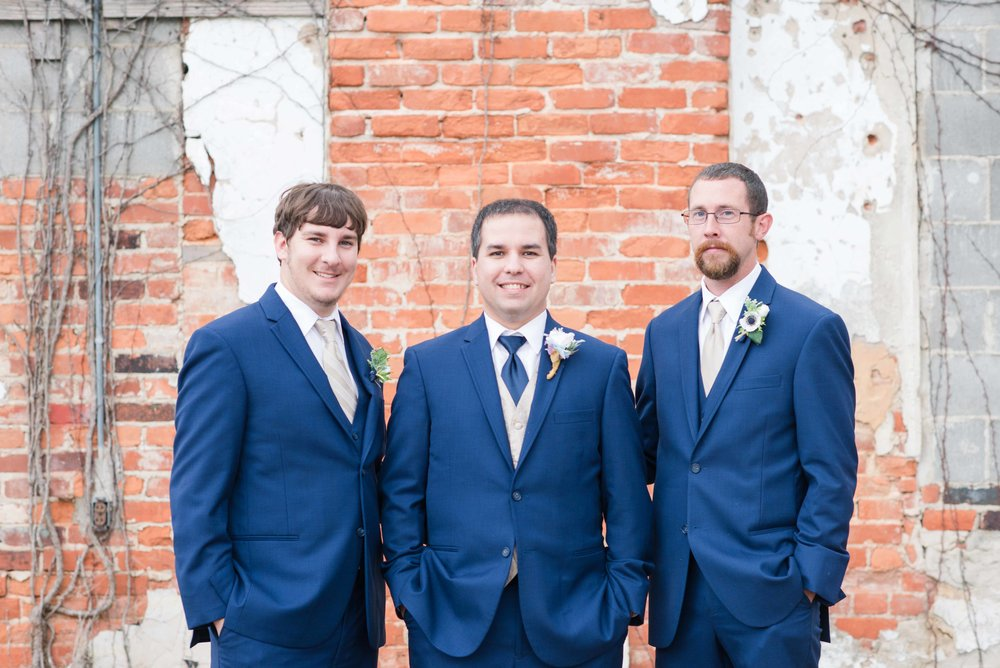 Groomsmen Greensboro Alabama Wedding Deborah Michelle Photography
