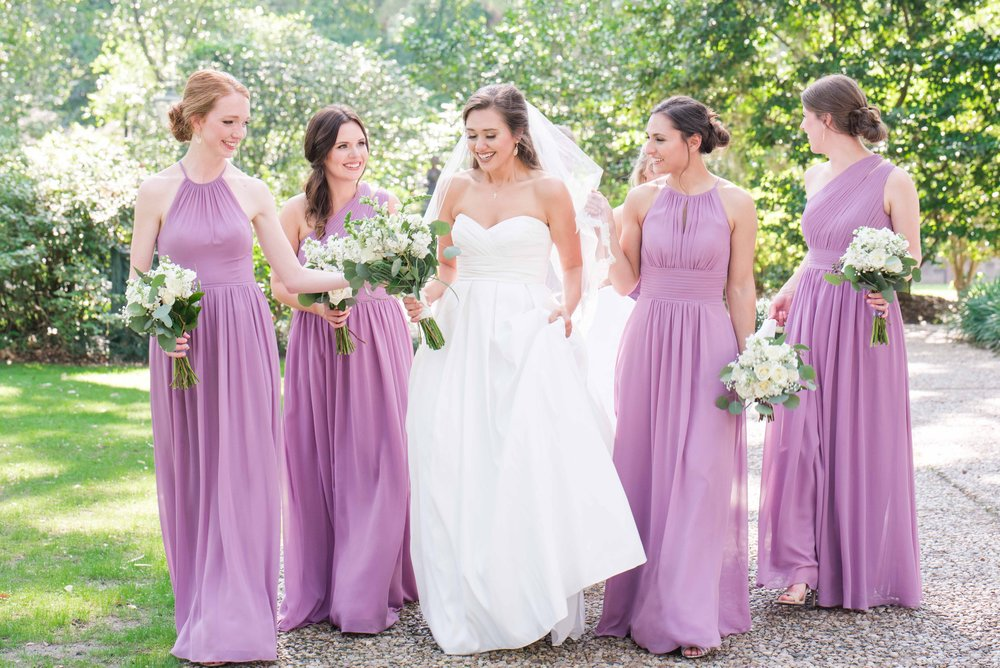 Deborah Michelle Photography 2018 Bragg Mitchell Mansion Mobile Alabama Wedding Bridesmaids