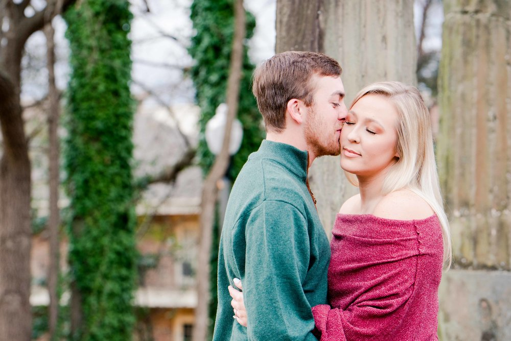 Deborah Michelle Photography Tuscaloosa Alabama Engagement Session Anna and Adam