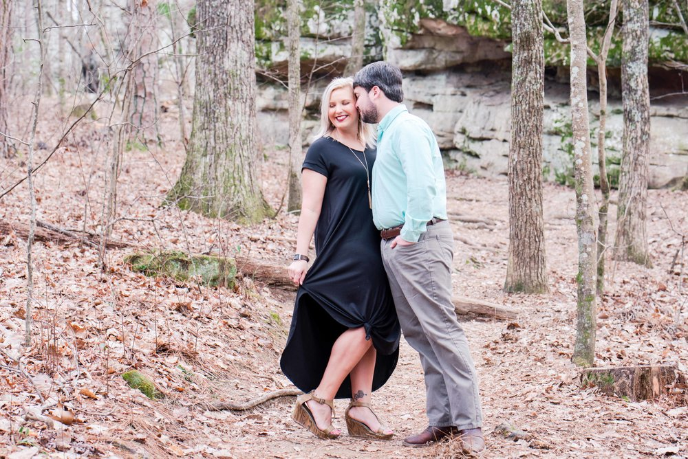 Deborah Michelle Photography Birmingham Alabama Moss Rock Preserve Engagement Session
