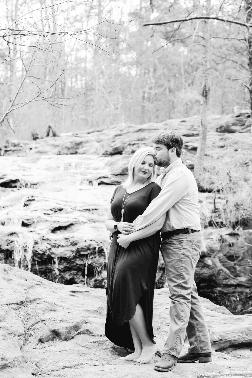 Birmingham Alabama Wedding Photographer Moss Rock Preserve Deborah Michelle Photography