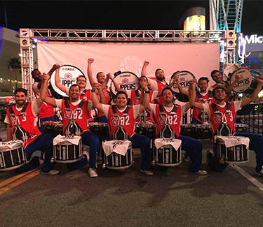CLIP PERCUSSION LA Clippers Drumline
