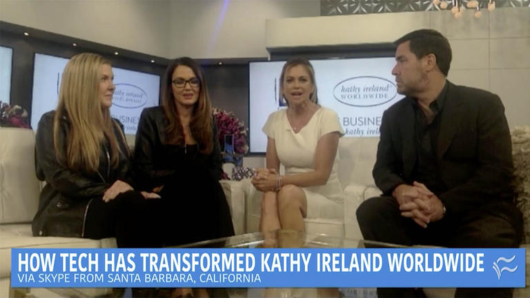 Conversation with Kathy Ireland about digital transformation