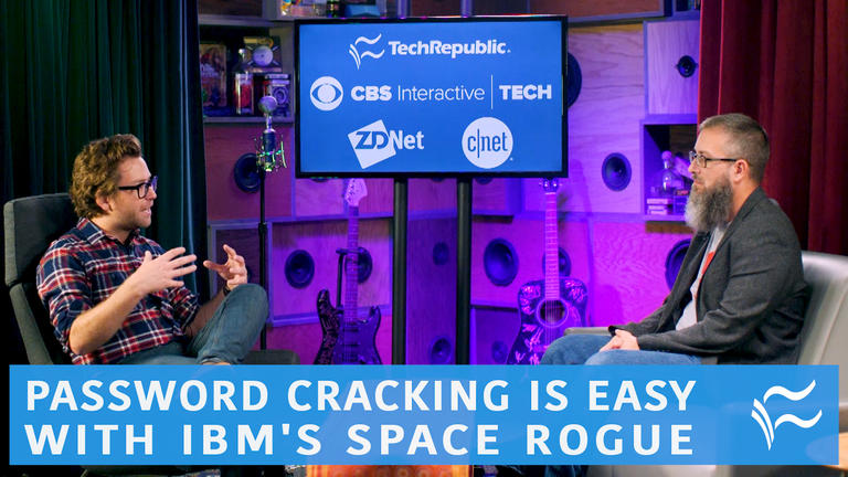 Video: Password cracking is easy with IBM's Space Rogue