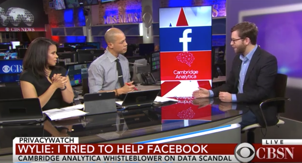 "Whistleblower on how Facebook data was ""weaponized"""