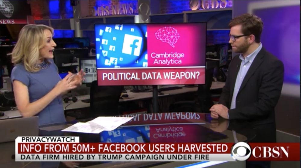 Lawmakers want answers from Facebook amid Cambridge Analytica scandal