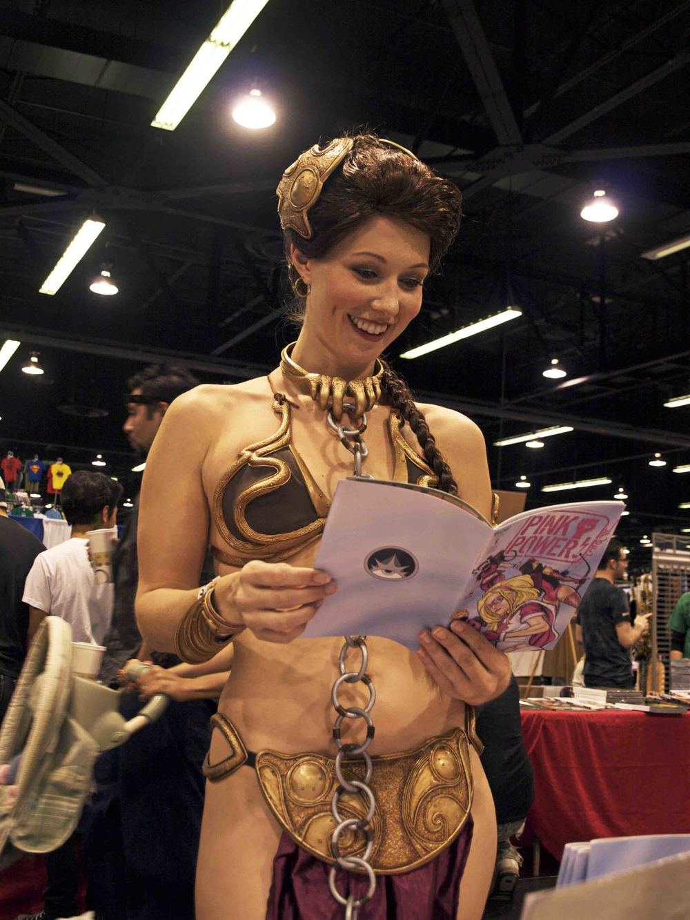 Slave Leia Copyright: Disney