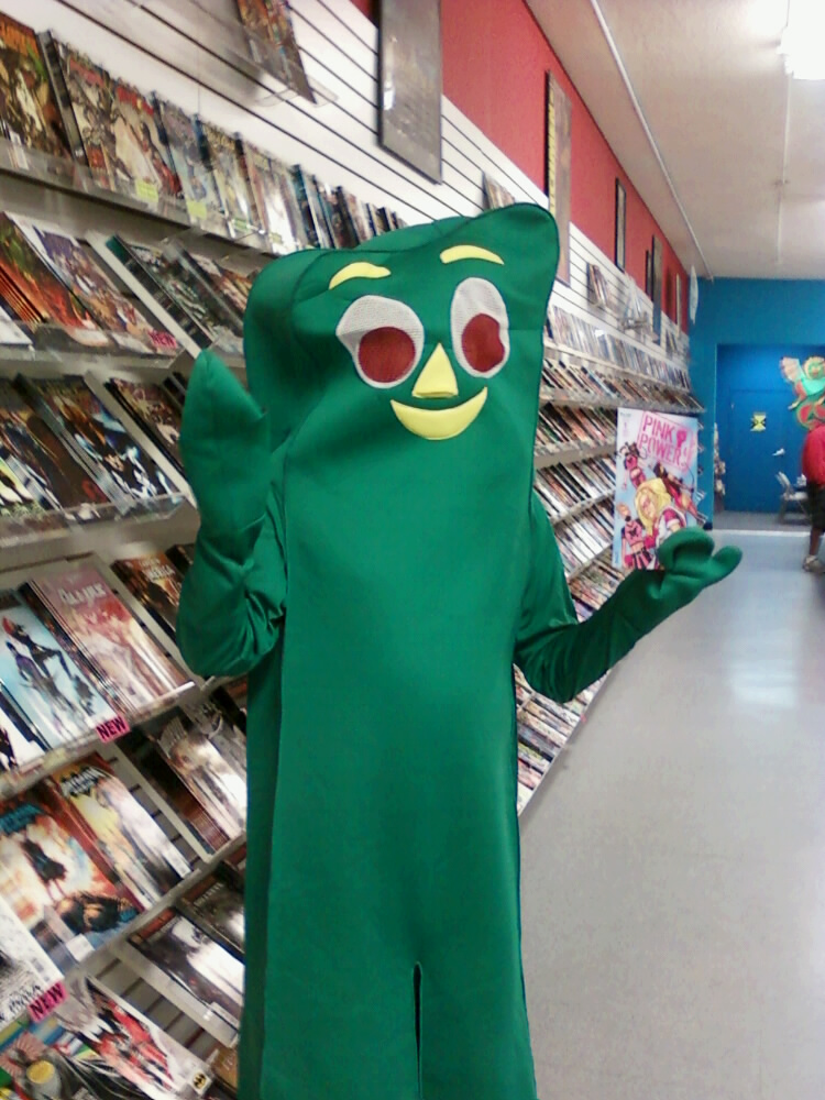 Gumby Copyright: Prema Toy Company