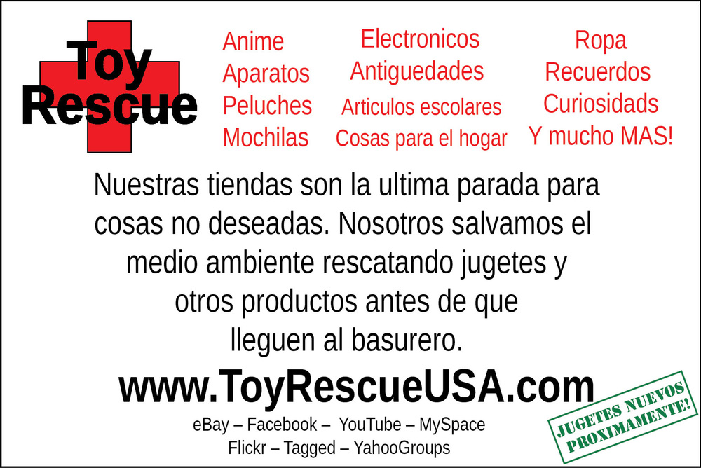 Copyright: Toy Rescue