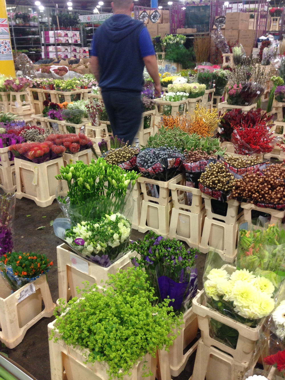 covent garden flower market