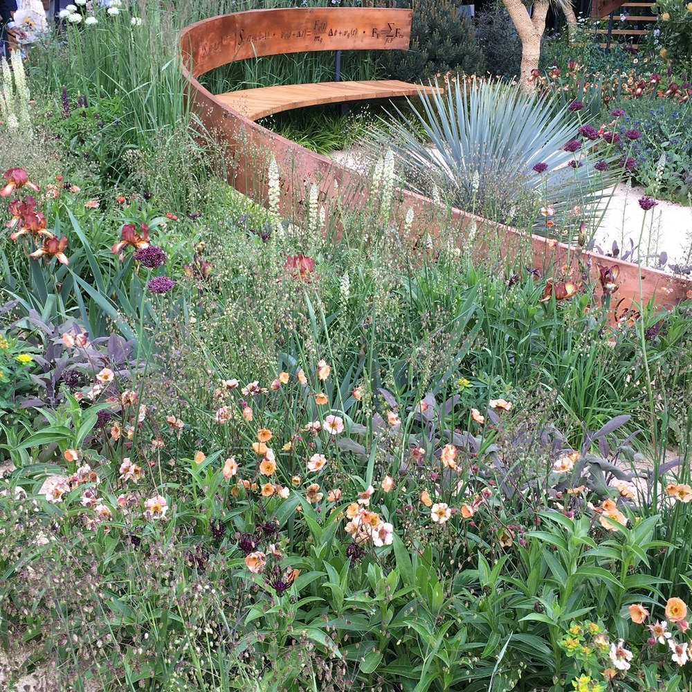 The Winton Beauty of Mathematics Garden by Nick Bailey