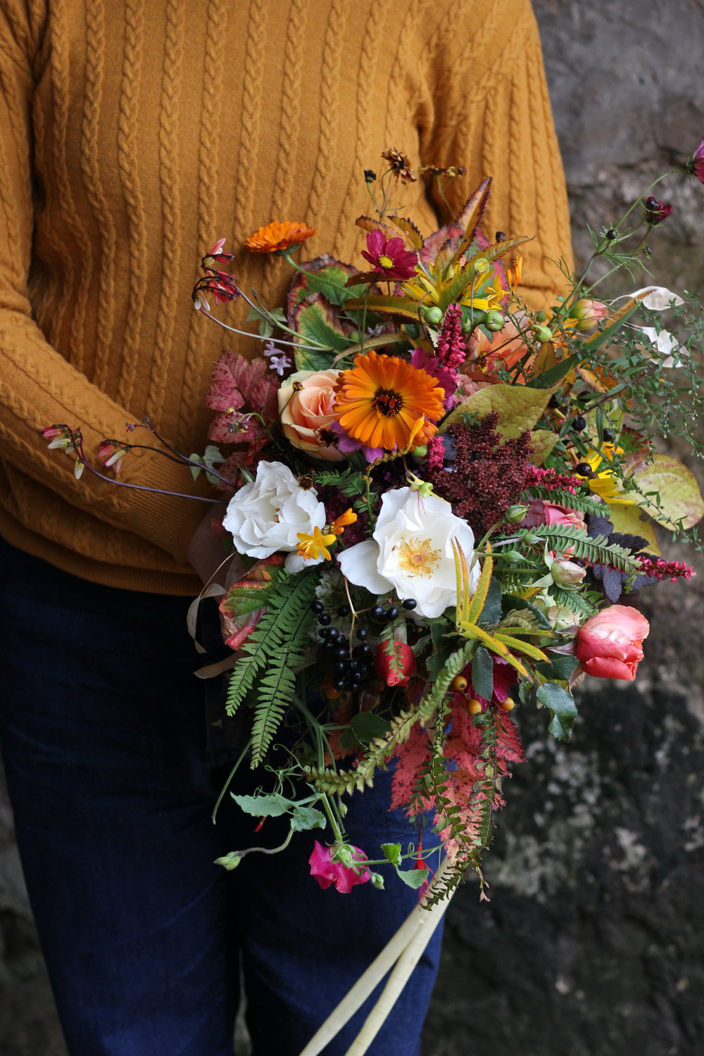 A bouquet by Anna Svensson made at Cambo