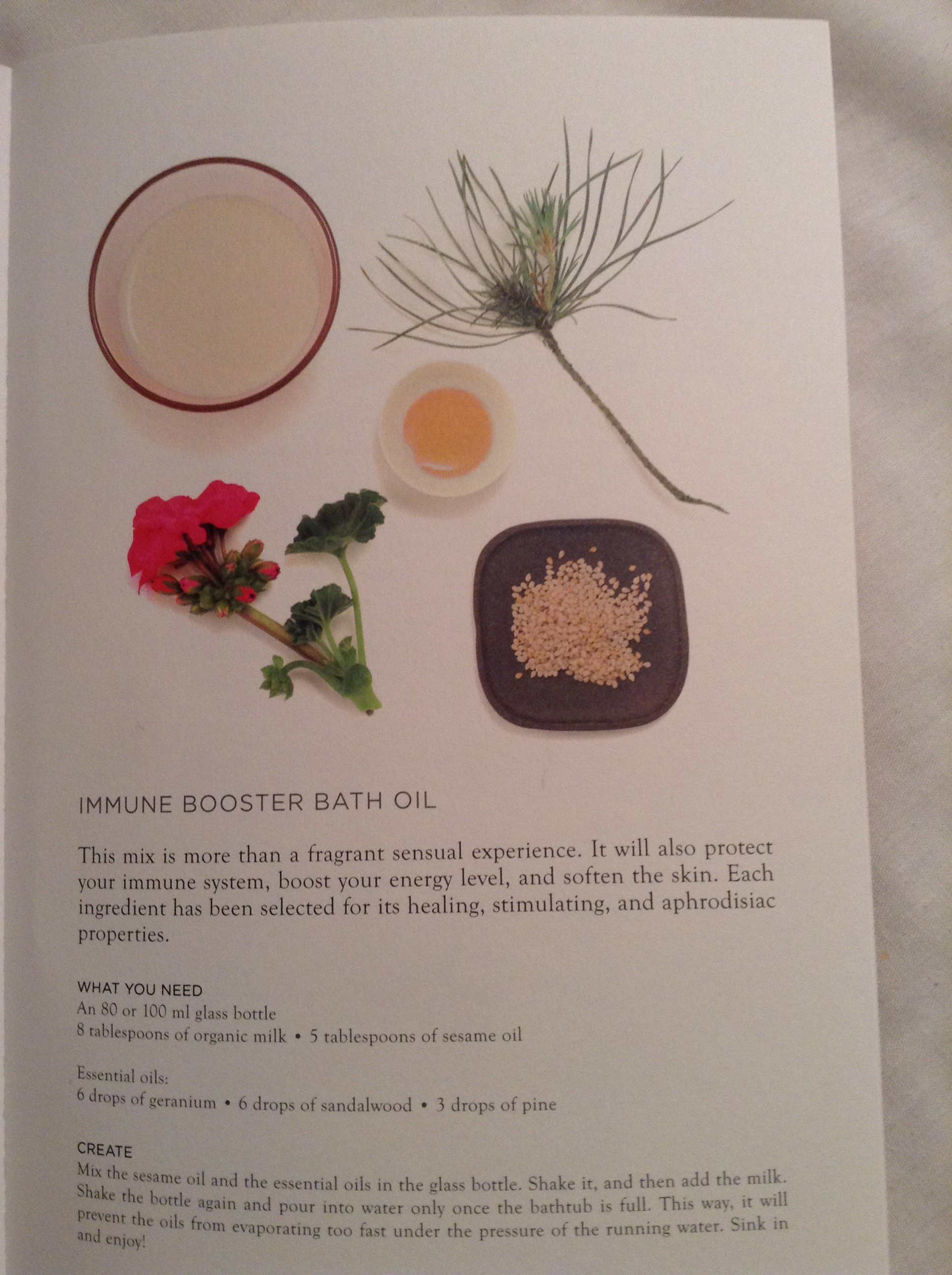 IMMUNE BOOSTER BATH OIL