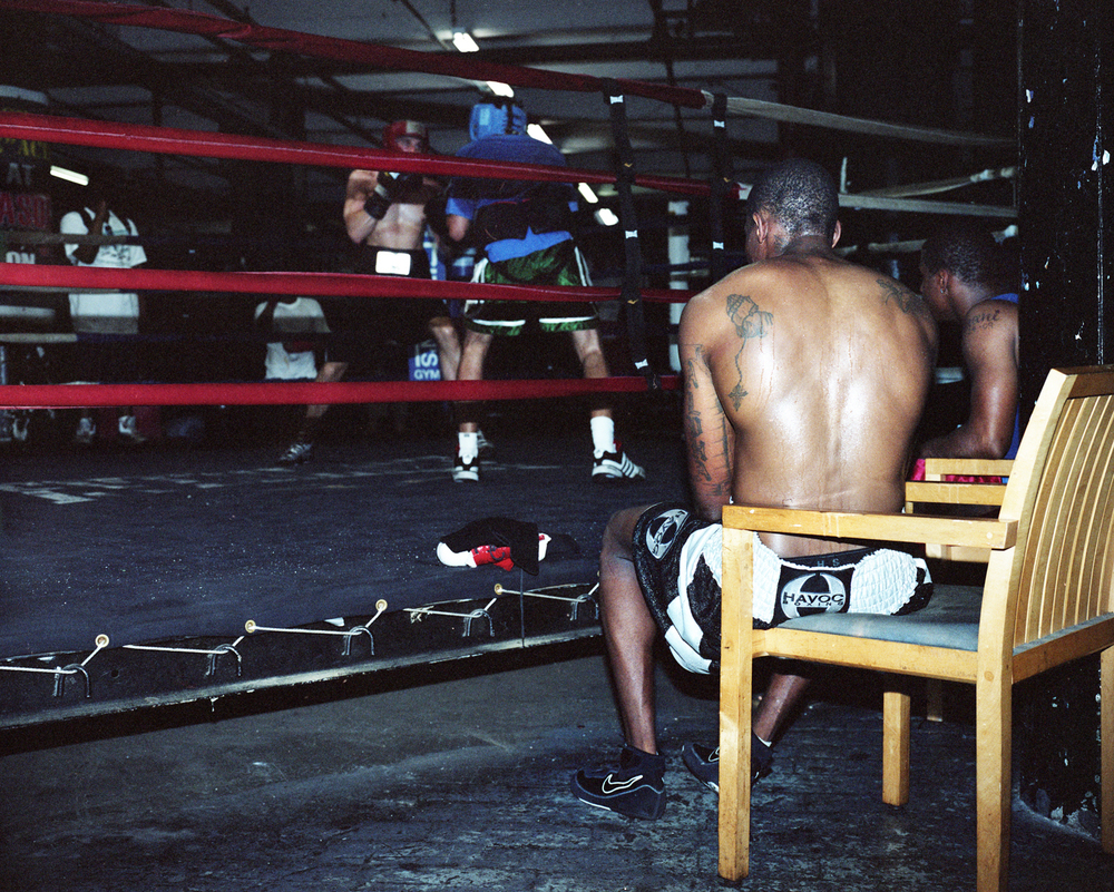 Gleason's in Brooklyn is a cathedral of boxing, multiple world champs have trained here. The faces are just as powerful to me as the boxing.
