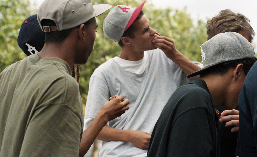 Arcade Boys are a young group of skateboarders living and riding in Auckland, New Zealand