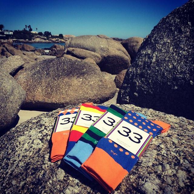 calcetines diseñados en mexico por la marca independiente 33. | imagen,33