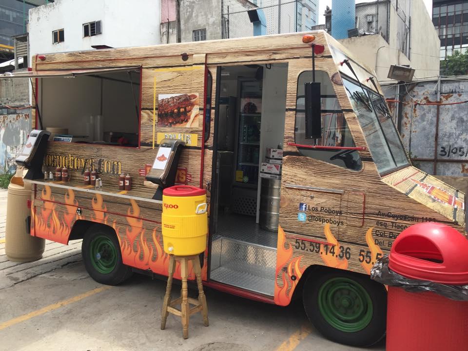 El Food Truck de Po'Boys BBQ | Po'Boys BBQ