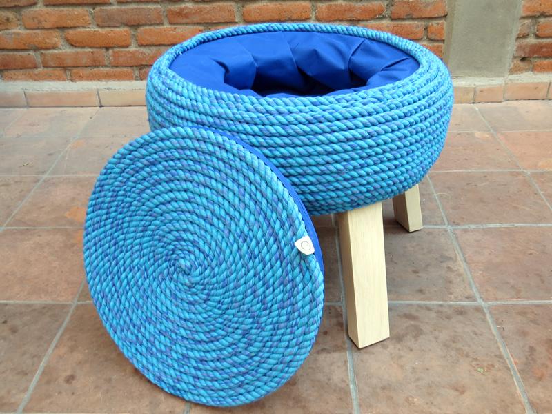 5 productos de dise o mexicano hechos de materiales reciclados - Muebles hechos con materiales reciclados ...