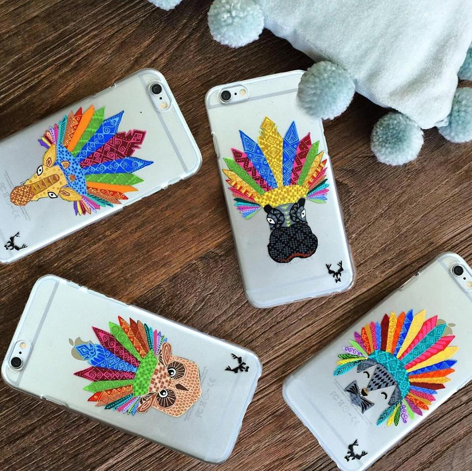 Fundas para celular de El Color de la Artesana | El Color de la Artesana