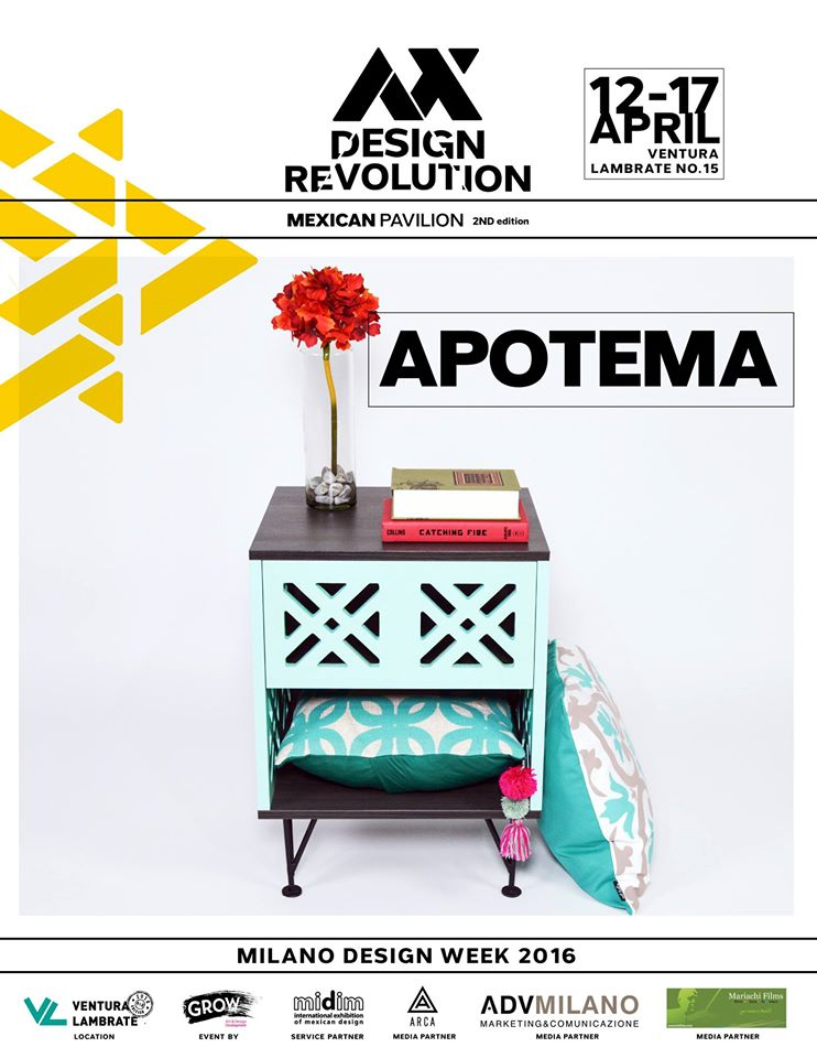 APOTEMA EN EL MEXICAN PAVILION MILANO DESIGN WEEK 2016 | GROW ADD