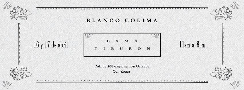 DAMA TIBURÓN EN BLANCO COLIMA | DAMA TIBURÓN