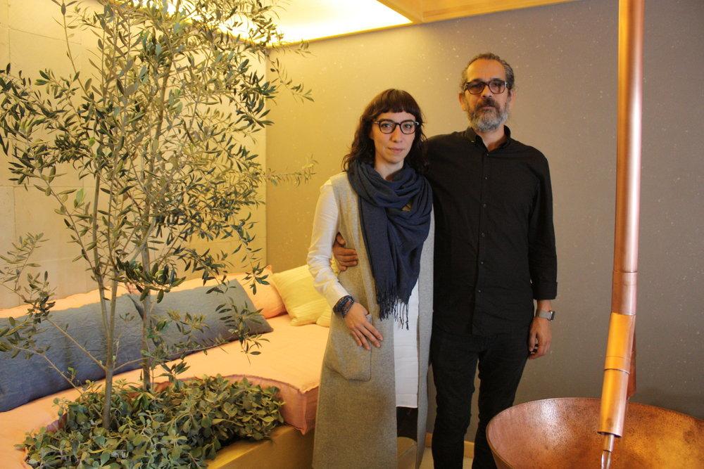 Claudina Flores y Juan Carlos