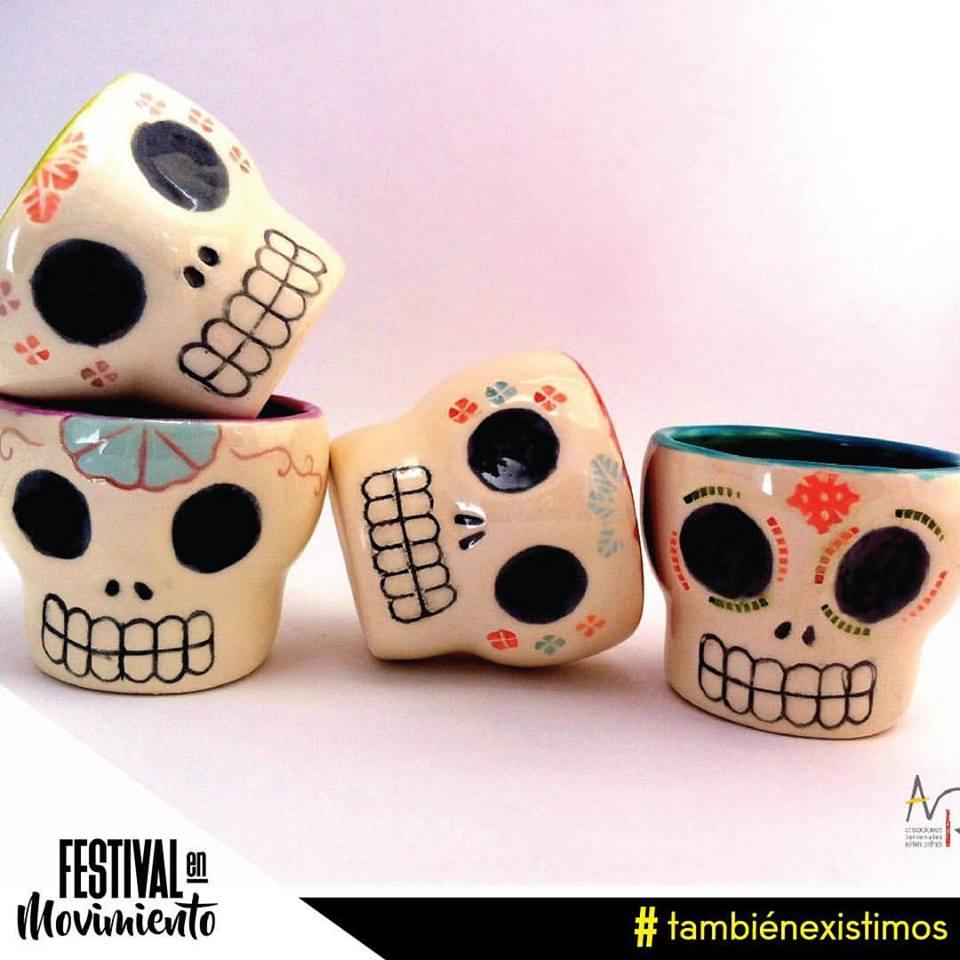 Objetos de cerámica de Adriana Pedraza