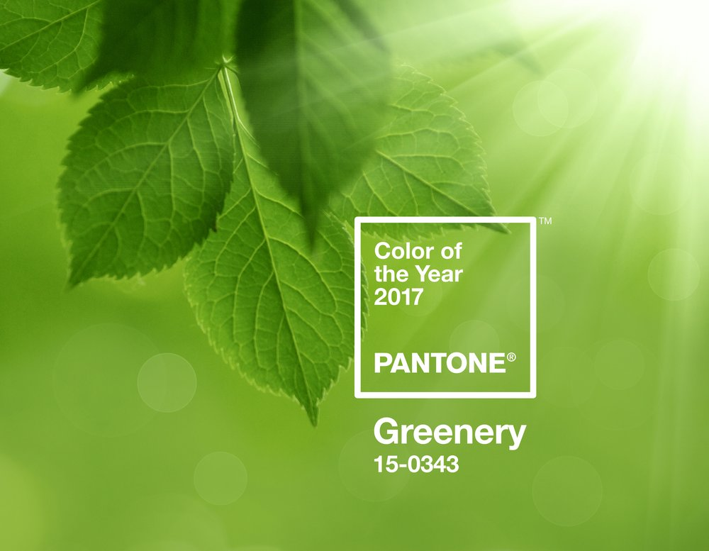 Greenery - Color of the Year 2017