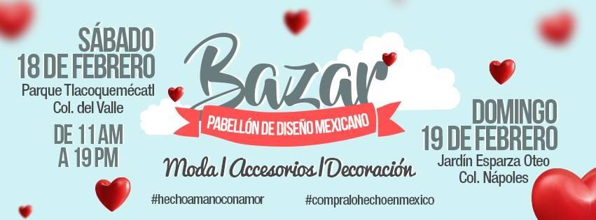 BAZAR PABELLÓN DE DISEÑO MEXICANO EN CDMX