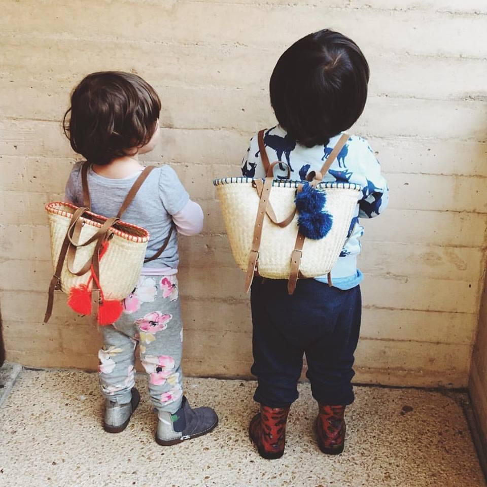 Mochilas amigos para niñas y niños de Korimi
