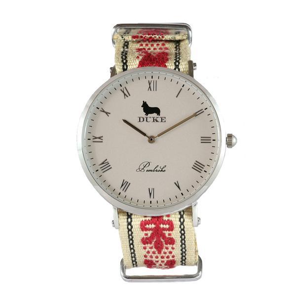Reloj rojo de Duke