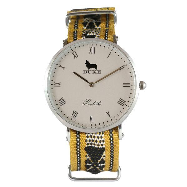 Reloj amarillo de Duke