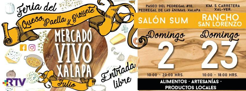 Mercado Vivo Xalapa 1 y 2 de Julio