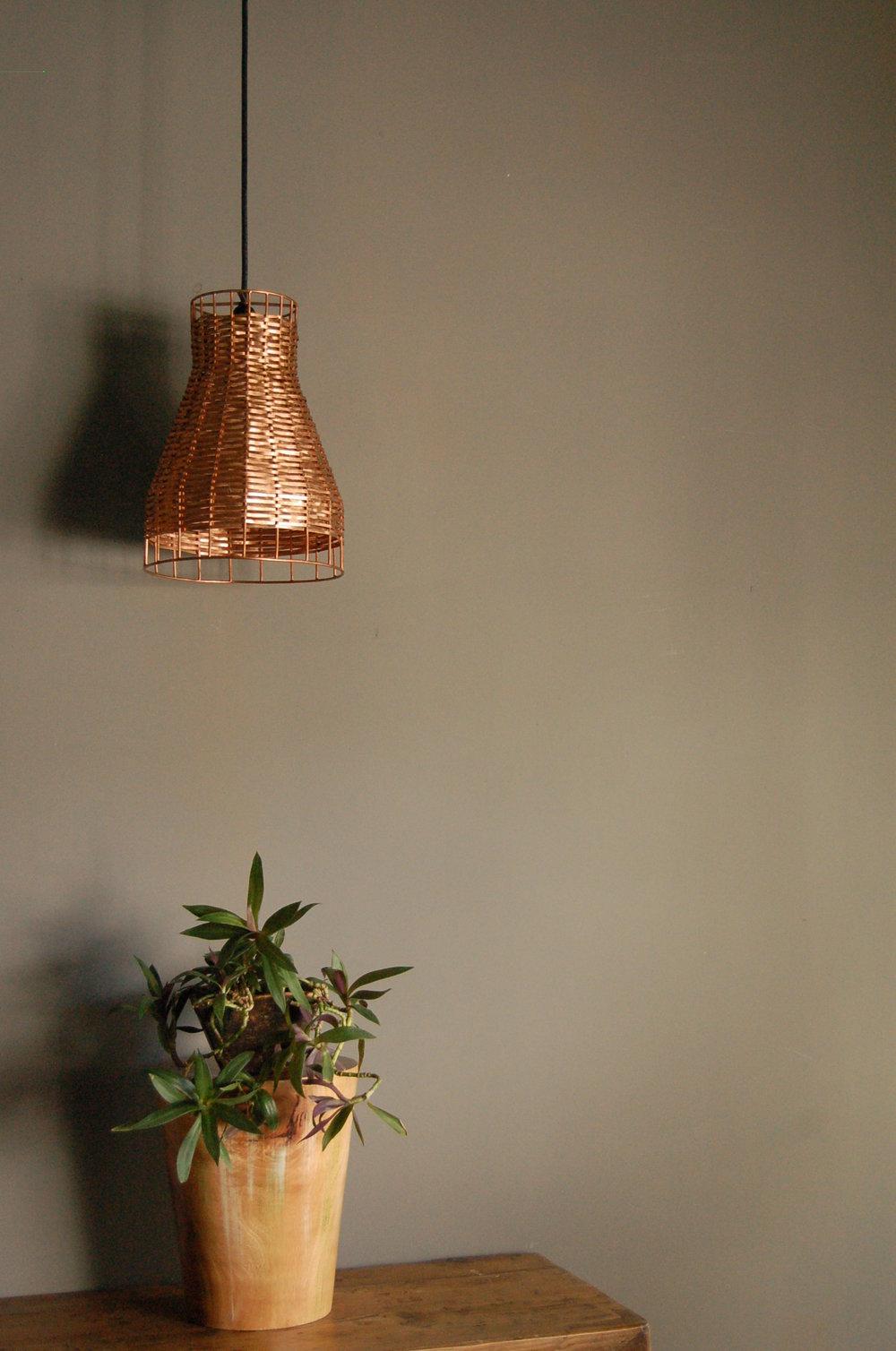 Luminaria de Cu29 Lightware diseño mexicano