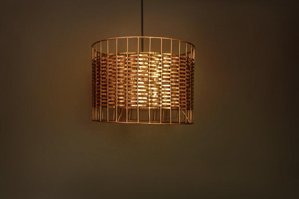 Lámpara de cobre de Cu29 Lightware