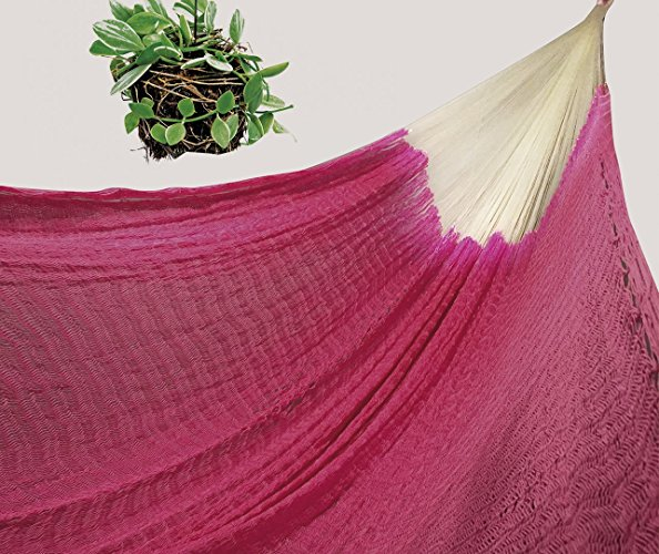 Hamaca Rosa hecha a mano por artesanos mayas - $1,399 pesos