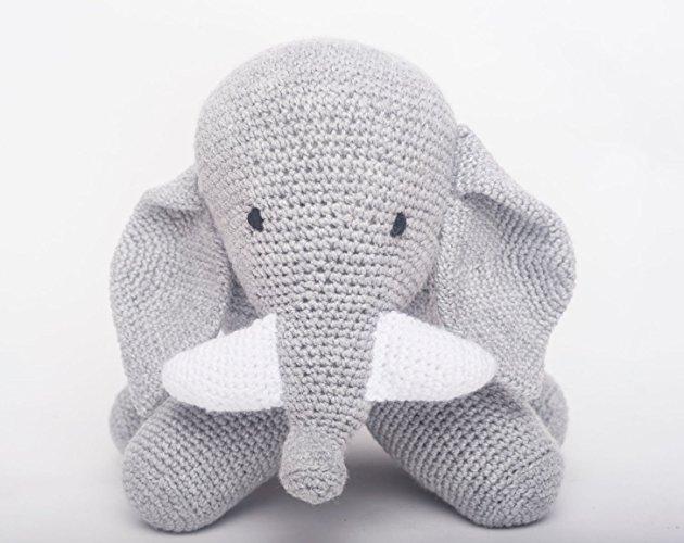 Elefante tejido a mano - MXN $710