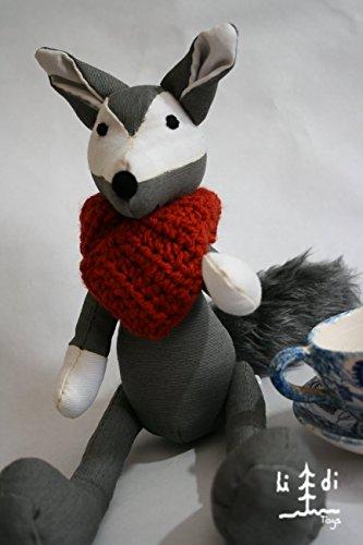 Lobo hecho a mano - MXN $600