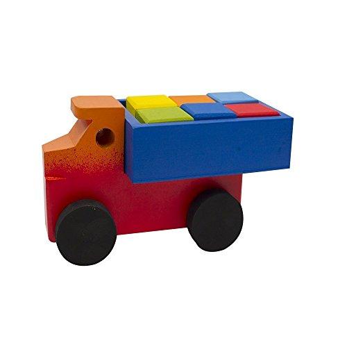 Camioncito de madera - MXN $117