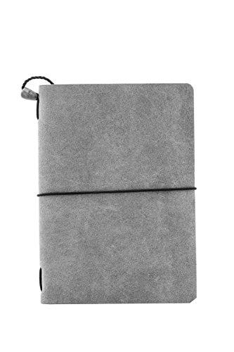 Libreta en piel gris - MXN $400
