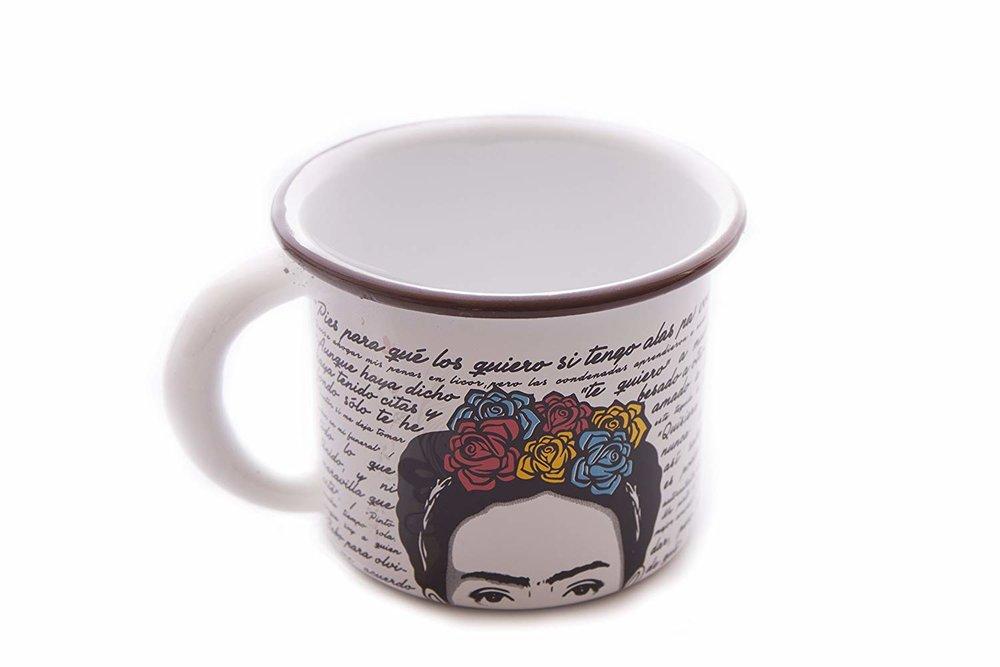 Taza de Peltre Frida - MXN $125.00