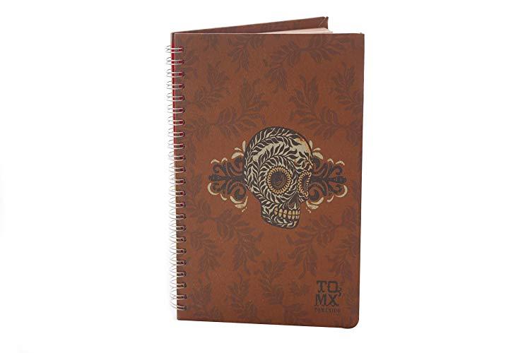 Libreta Calavera Diseño Mexicano - MXN $180.00