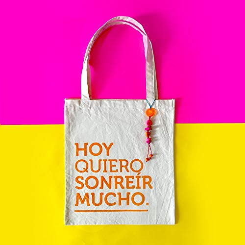 Totebag Sonreír - MXN $250.00