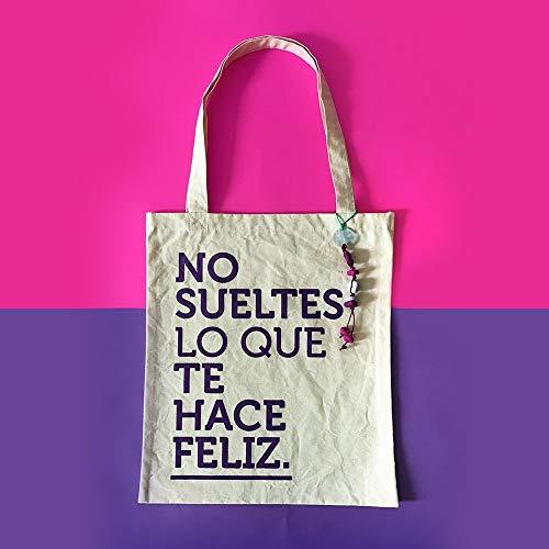 Totebag Felicidad - MXN $250.00