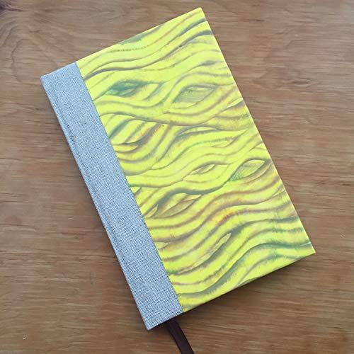 Yellow Handpainted Journal - MXN $400.00