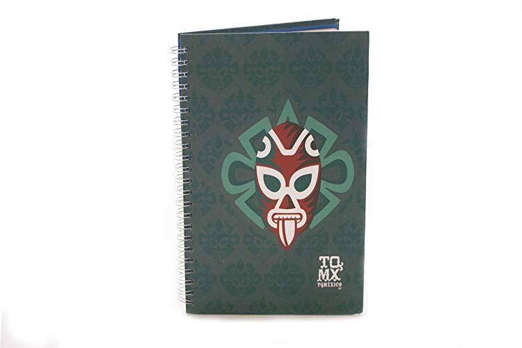 Libreta Luchador Diseño Mexicano - MXN $180.00