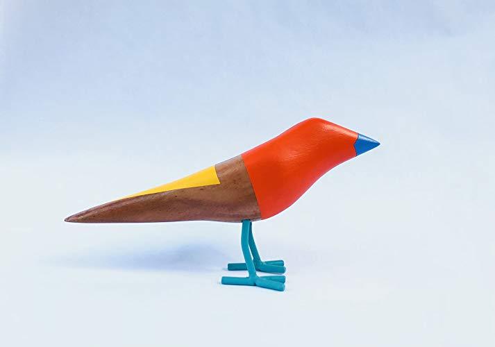 Pájaro Artesanal de Madera - MXN $998
