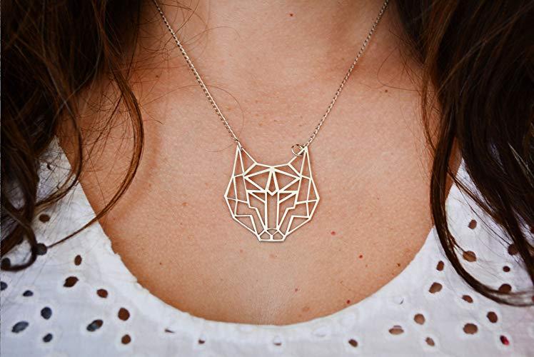 Collar Lobo Spirit Animal - MXN $395